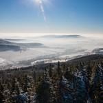 Zimní krajina v okolí Dolní Moravy